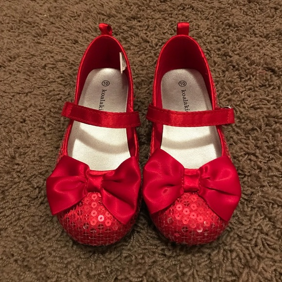 Red Sequin Dress Shoes   Poshmark